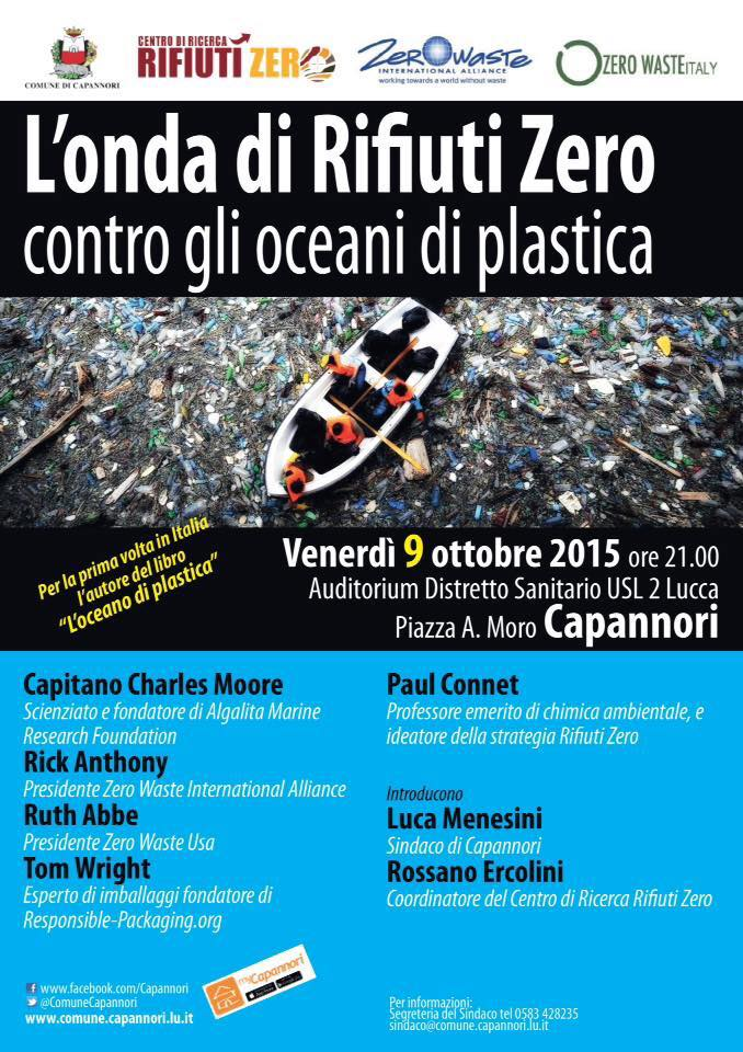 Poster for Cappanori 'Zero Waste Dream Team' event